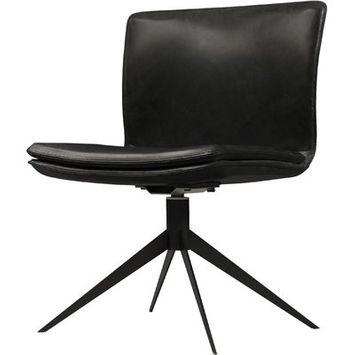 Modloft Duane Desk Chair Color: Aged Onyx