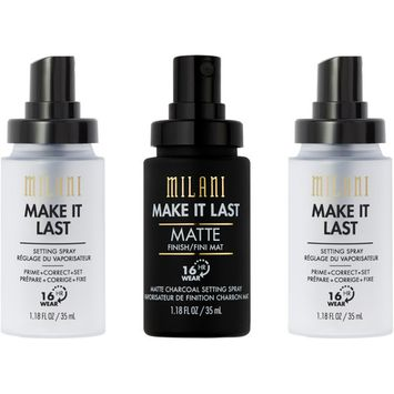 Milani Online Only Holiday Setting Spray Trio Kit