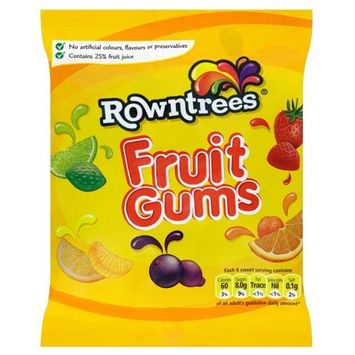Rowntree's Fruit Gums (170g) - Pack of 2