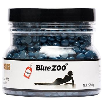 Bluezoo Brazilian Hard Wax Beads Depilatory Solid Hot Film Waxing Pellets for Body Bikini Hair Removal 250g Chamomile