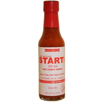 Start Hot Curry Sauce, Original, 5 Ounce