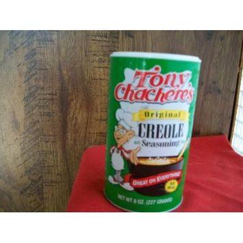 Tony Chachere's Orginal Creole Seasoning 8 Oz. Size NO MSG