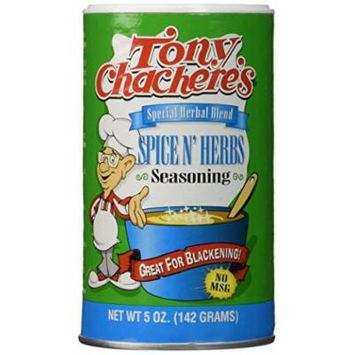 Tony Chachere Seasoning Blends, Spice N Herbs, 4 Count