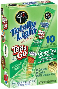 4C Itm-Tl Tea2go Green (Honey/Lemon) Itm-Stix 10 Ct Box