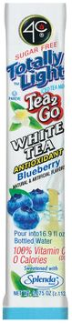 4C Itm-Tl Tea2go Packet-White (Blueberry) Itm Packet