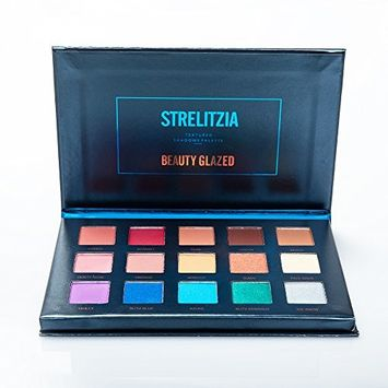 Beauty Glazed 15 Colors Eyeshadow Palette Matte + Shimmer Natural Colors High Pigments Waterproof Professional Makeup Eye Shadow Smoky
