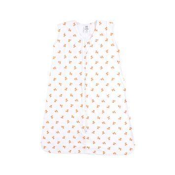 Luvable friends Soft Jersey Cotton Safe Sleep Wearable Sleeping Bag, 0-24 Months