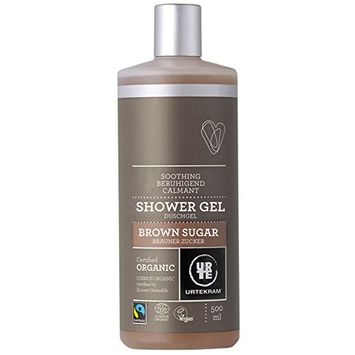 Urtekram Organic Fairtrade Brown Sugar Shower Gel 500 ml