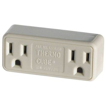 Farm Innovators TC-2 Cold Weather Thermo Cube Thermostatically Controlled Outlet - On at 20-Degrees/Off at 30-Degrees (Discontinued by Manufacturer)