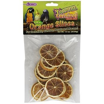 F.M.BROWN'S F.M. Brown's Tropical Carnival Natural Orange Slices, Net Wt .75 oz