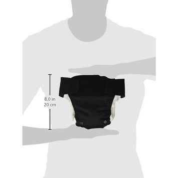 BabyKicks Premium Cloth Diaper Hook and Loop Closure, Black (Discontinued by Manufacturer)