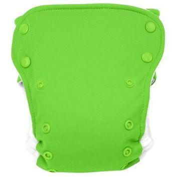 BabyKicks Premium Cloth Diaper Snap Closure, Azure