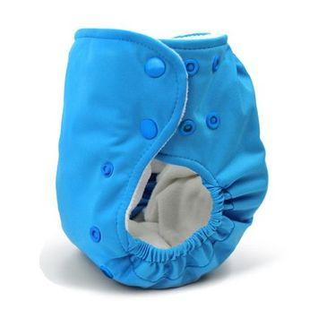BabyKicks Basic Cloth Diaper Snap Closure, Black