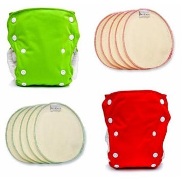 BabyKicks Holiday Cloth Diaper Pack, One Size