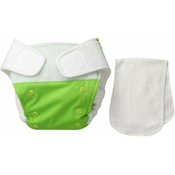 BabyKicks Premium Cloth Diaper Hook and Loop Closure, Meadow