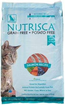 Phillips Feed & Pet Supply Catswell Nutrisca Salmon Recipe Dry Cat Food