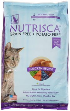 Phillips Feed & Pet Supply Catswell Nutrisca Chicken Recipe Dry Cat Food