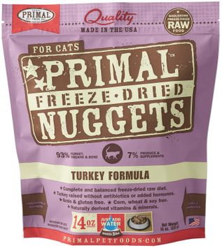 Phillips Feed & Pet Supply Primal Pet Foods Freeze-Dried Turkey 14 oz Cat Food