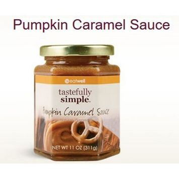 Tastefully Simple - Pumpkin Caramel Sauce - Large 11 ounce jar