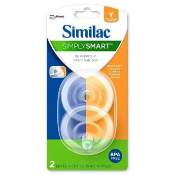 Similac® SimplySmart™ Level Y Cut Silicone Nipple