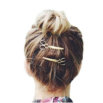 Bestpriceam Cute Hair Clip Hair Accessories Headpiece Scissors Style (G