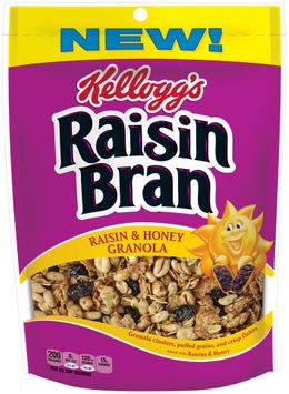 Kellogg's Raisin Bran® Raisin & Honey Granola