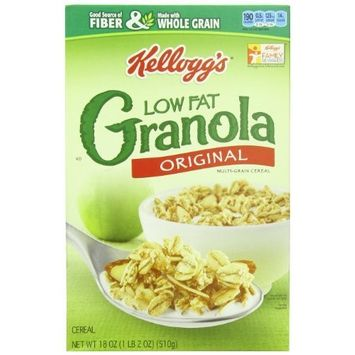 Kellogg's Granola without Raisins, Low Fat, 18-Ounce Boxes (Pack of 5)