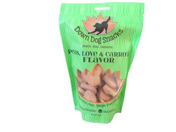Down Dog Snacks Peas, Love & Carrots 8oz Bag