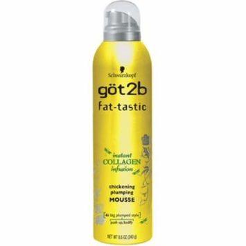 3 Pack - got2b fat-tastic Instant Collagen Infusion Mousse 8.50 oz