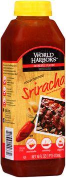 World Harbors® Asian Inspired Sriracha Sauce & Marinade