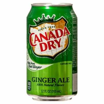 New 328786 Ginger Ale 12 Oz (12-Pack) Can Soda Cheap Wholesale Discount Bulk Beverages Can Soda Canada Dry