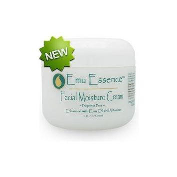 Emu Essence Fragrance Free Facial Moisture Cream with Emu Oil 2oz