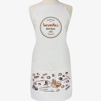 Monogramonline Inc. Personalized Homemade Goodies Kitchen Apron
