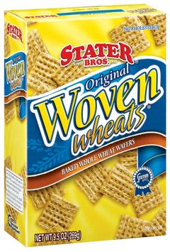 Stater bros Baked Whole Wheat Wafers Original Woven Wheats