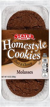 Stater bros® Homestyle Soft & Chewy Molasses Cookies