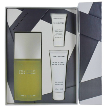 Issey Miyake L'eau D'issey Gift Set for Men, 3 Piece, 1 set