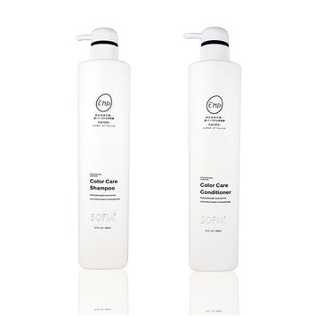 ODE SOFIA Color Care Shampoo and Conditioner,for women, men and teens, used for chemically treated of coloured hair and all hair types, 23Fl OZ, 680ml (Set of Shampoo and Conditioner)