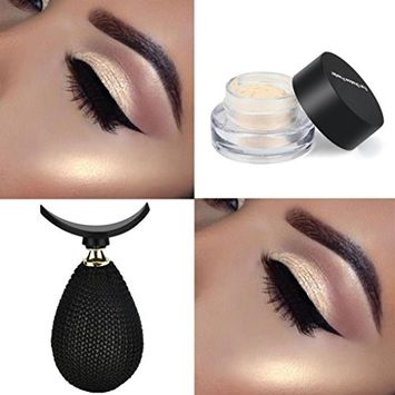 Hatop Lazy Eyeshadow Stamp, 1Pc Popular Silicone Eyeshadow Stamp Fashion Lazy Eye Shadow Applicator Set Beauty Makeup