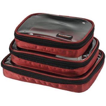 Damai Waterproof 3pcs/set Travel Electronic Case Packing Cubes