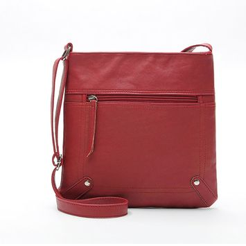 Voberry® New Womens Leather Satchel Cross Body Shoulder Messenger Bag Handbag
