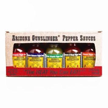 Arizona Gunslinger Pepper Sauce Variety Pack (1 Item Per Order, not per case)