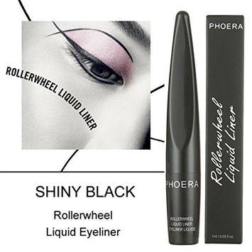 Hatop Black Roller wheel Eyeliner Waterproof Liquid Eye Liner Pen Beauty