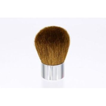 Erth Mineral Luxury Kabuki Brush Full Size 56mm. Super Soft Tapers. Chrome Base. All Natural Bristles. by