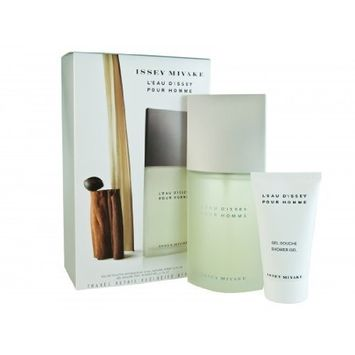 L'EAU D'ISSEY POUR HOMME SET BY ISSEY MIYAKE 125ml 4.2oz EDT + 75ml 2.5oz SHOWER GEL