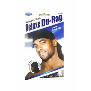 DREAM SMOOTH & THICK DELUXE DU-RAG-BLACK