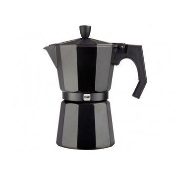 Magefesa Kenia Aluminum 6 Cups Coffee Maker Finish: Aluminum black
