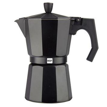 Magefesa Kenia Aluminum 3 Cups Coffee Maker Finish: Aluminum black
