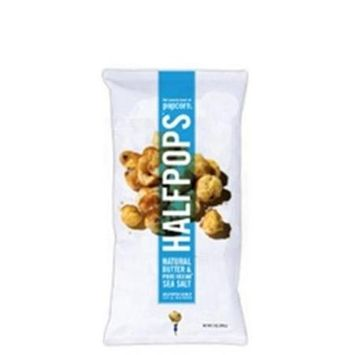 Halfpops Popcorn Butter & Pure Ocean Sea Salt 2 oz