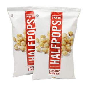 Halfpops Popcorn Chipotle Barbeque 6 oz