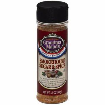 Grandma Mauds Smokehouse Sugar & Spice Seasoning, 3.5 oz, (Pack of 6)